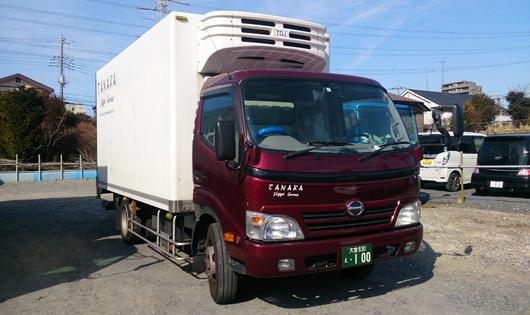 中型冷凍3t車両